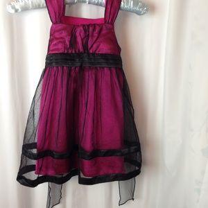 RMLA  pink/black  toddlerdress 3T